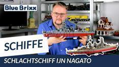 Youtube: Schlachtschiff IJN Nagato von BlueBrixx