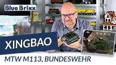 Youtube: Bundeswehr MTW M113 von Xingbao @ BlueBrixx