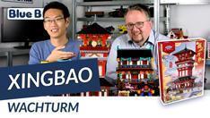 Youtube: Wachturm von Xingbao @ BlueBrixx - mit unserem Fachmann Ouxi Li!