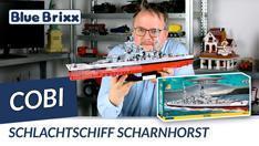 Youtube: Schlachtschiff Scharnhorst von Cobi @ BlueBrixx