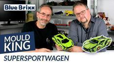 YouTube: Supersportwagen in hellgrün von Mould King @ BlueBrixx