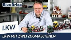 YouTube: Lkw mit zwei Zugmaschinen von BlueBrixx