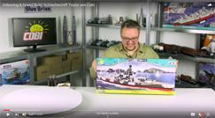 Unboxing & Speed Build Battleship Tirpitz by Cobi