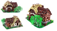 In Kürze wieder erhältlich: die alte Wassermühle