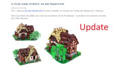 Update: Alte Wassermühle wieder erhältlich!