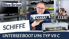 YouTube: Unterseeboot U96 Typ VII C von BlueBrixx