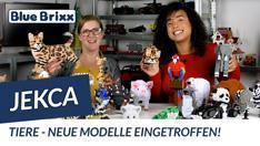 Youtube: Tiere von Jekca Limited @ BlueBrixx - wilde Neuheiten eingetroffen!