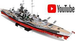 Youtube: Speedbuild & Review Video of the Tirpitz by Cobi