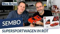 Youtube: Supersportwagen in rot von Sembo @ BlueBrixx