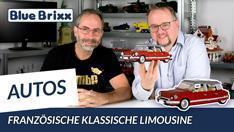 Youtube: Französische klassische Limousine von BlueBrixx