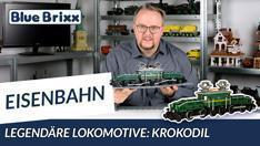 Youtube: Legendäre Lokomotive - Krokodil in grün von BlueBrixx