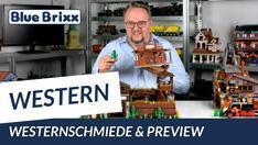 Youtube: Westernschmiede von BlueBrixx & Preview künftiger Western-Sets!