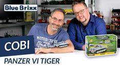 Youtube: Panzer VI Tiger von Cobi im Maßstab 1:48 @ BlueBrixx