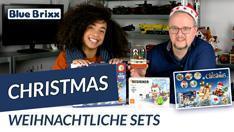 YouTube: Drei weihnachtliche Sets für kleines Geld @ BlueBrixx