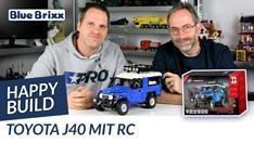 Youtube: Toyota J40 von Happy Build @ BlueBrixx - ein Highlight mit Fernsteuerung!