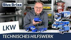 Youtube: Neue Serie von BlueBrixx - Modelle des Technischen Hilfswerks!