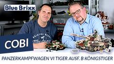Youtube: Panzerkampfwagen VI Tiger Ausf. B Königstiger von Cobi @ BlueBrixx