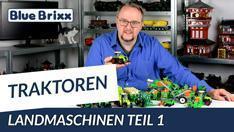 Youtube: Landmaschinen von BlueBrixx - Teil 1 unserer neuen Serie!