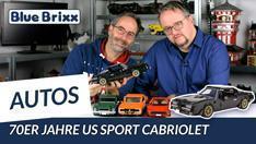 Youtube: Amerikanisches Sport-Cabriolet der 70er-Jahre von BlueBrixx