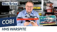 Youtube: HMS Warspite von Cobi @ BlueBrixx - die Neuauflage ohne Sticker!