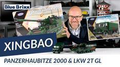 Youtube: Bundeswehr Panzerhaubitze 2000 & LKW 2t GL von Xingbao @ BlueBrixx