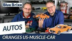Youtube: Oranges US-Muscle-Car von BlueBrixx