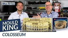 Youtube: Colosseum von Mould King @ BlueBrixx - mit Studiogast Stefan!