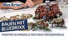 Youtube: Bauen mit BlueBrixx - Schmiede & Wassermühle zu Kingdom Come Deliverance