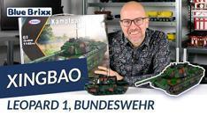 Youtube: Kampfpanzer Leopard 1, Bundeswehr von Xingbao @BlueBrixx