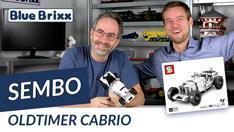 Youtube: Oldtimer-Cabrio von Sembo @ BlueBrixx