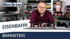 Youtube: Bahnsteig von BlueBrixx - mit Teaser am Ende des Videos!