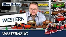 Youtube: Westernzug von BlueBrixx - mit Ausblick auf weitere Westernsets!