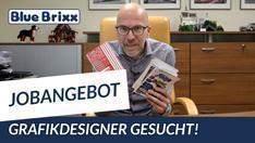 Youtube: BlueBrixx stellt ein: Grafikdesigner (m/w/d) gesucht!