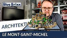 Youtube: Le Mont-Saint-Michel von BlueBrixx - ein Weltkulturerbe aus Noppensteinen!