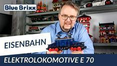 Youtube: Elektrolokomotive E 70 von BlueBrixx