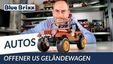 YouTube: Offener US Geländewagen von BlueBrixx