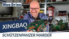 YouTube: Bundeswehr Schützenpanzer Marder von Xingbao @ BlueBrixx