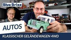 YouTube: Klassischer Geländewagen 4WD von BlueBrixx