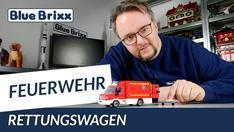 YouTube: RTW Feuerwehr von BlueBrixx