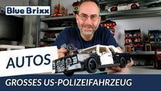 YouTube: Großes US Polizeifahrzeug von BlueBrixx