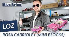 YouTube: Rosa Cabriolet von LOZ aus Mini Blocks @BlueBrixx