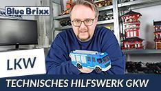 Youtube: Technisches Hilfswerk GKW von BlueBrixx
