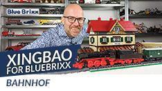 Youtube: Bahnhof von Xingbao for BlueBrixx - 4.762 Teile Eisenbahnromantik!