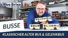 Youtube: Klassischer alter Bus & Gelenkbus von BlueBrixx