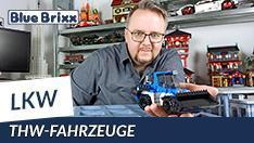 YouTube: Technisches Hilfswerk LKW mit Radlader BRmG & MzKW von BlueBrixx