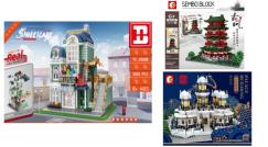 Neue Sets von Sembo und Happy Build eingetroffen!