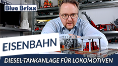 Youtube: Diesel-Tankanlage für Lokomotiven von BlueBrixx