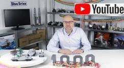 Youtube: 1.000 Abonnenten und Preview neuer Bluebrixx Specials!