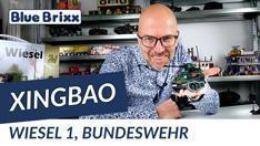 Youtube: Bundeswehr Wiesel 1 von Xingbao @ BlueBrixx