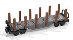 Rungenwagen mit Drehgestellen neu im Shop!